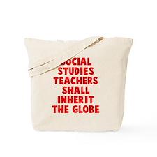 Social Studies Teachers Globe Tote Bag