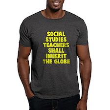 Social Studies Teachers Globe T-Shirt