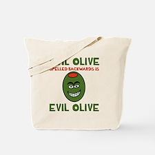 Evil Olive Palindrome Tote Bag