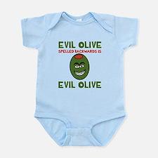 Evil Olive Palindrome Onesie