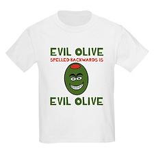 Evil Olive Palindrome T-Shirt