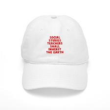 Social Studies Teachers Earth Baseball Cap
