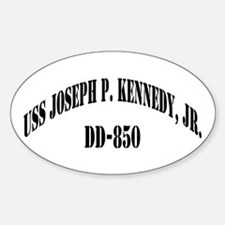 USS JOSEPH P. KENNEDY, JR. Sticker (Oval)