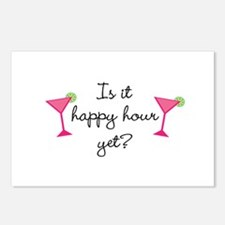 Happy Hour Yet? Postcards (Package of 8)