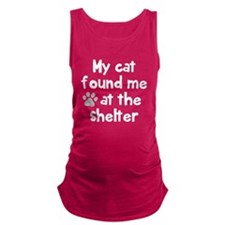 My cat shelter Maternity Tank Top
