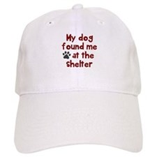 My dog shelter Baseball Cap