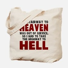 Heaven to Hell Tote Bag