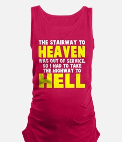 Heaven to Hell Maternity Tank Top