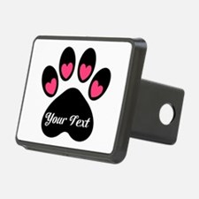Personalizable Paw Print Hitch Cover