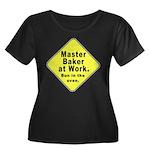 Master Baker- Bun in Oven! Women's Plus Size Scoop