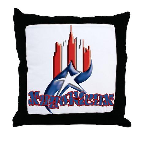 NuyoRican Throw Pillow
