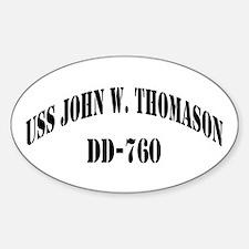 USS JOHN W. THOMASON Decal
