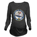 USS JOHN W. THOMASON Long Sleeve Maternity T-Shirt