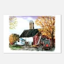 Amish Farm and Buggies Postcards (Package of 8)