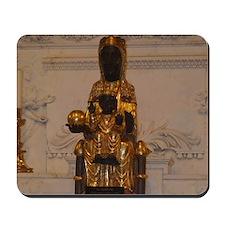 Lady of Montserrat Mousepad