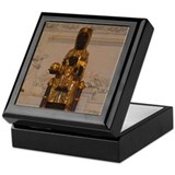 Lady of montserrat Keepsake Boxes