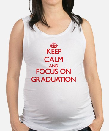 Funny Exercises Maternity Tank Top