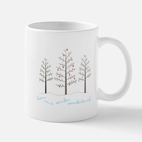 Winter Wonderland Tree Mugs