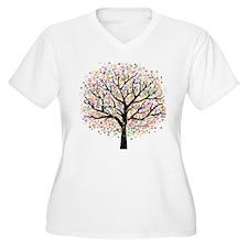 Dream Tree Plus Size T-Shirt