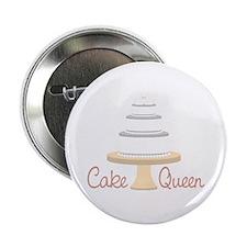 """Cake Queen 2.25"""" Button"""