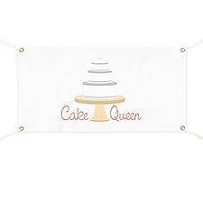 Cake Queen Banner