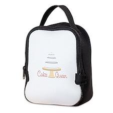 Cake Queen Neoprene Lunch Bag