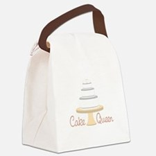 Cake Queen Canvas Lunch Bag