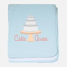Cake Queen baby blanket
