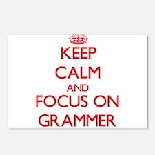 Cute Grammar rules Postcards (Package of 8)