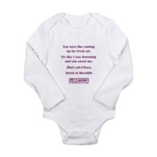 THAT'S ALL I KNOW Long Sleeve Infant Bodysuit