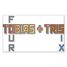 Tobias & Tris Decal