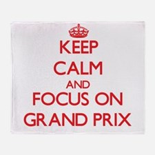 Unique Grand prix Throw Blanket