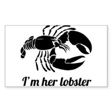 I'm her lobster Decal