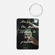 Funny Hipster teen Keychains
