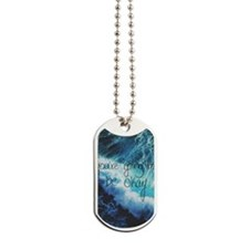 Cute Words and quotes Dog Tags