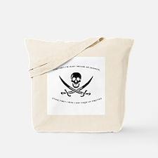 Engineering Pirate Tote Bag