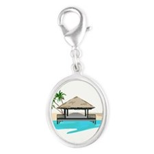 Tropical Island Welcome Dock Charms