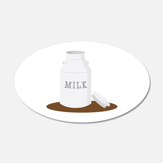 Farm Milk Wall Decal