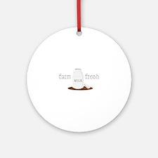 Farm Fresh Ornament (Round)