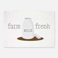 Farm Fresh 5'x7'Area Rug