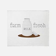Farm Fresh Throw Blanket