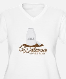 Welcome to the Farm Plus Size T-Shirt