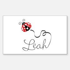 Ladybug Leah Decal