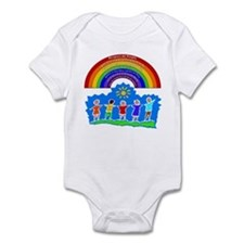 Rainbow Principles Kids Infant Bodysuit
