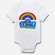 Rainbow Principles Kids Infant Bodysuit