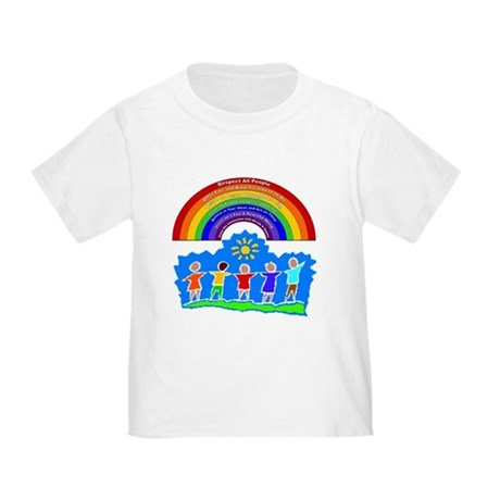 Rainbow Principles Kids Toddler T-Shirt