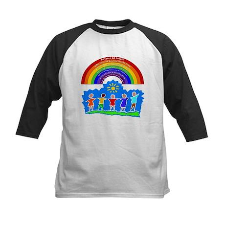 Rainbow Principles Kids Kids Baseball Jersey
