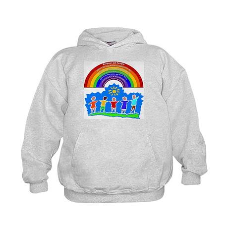 Rainbow Principles Kids Kids Hoodie