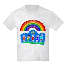 Rainbow Principles Kids T-Shirt