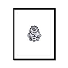 Tennessee Highway Patrol Framed Panel Print
